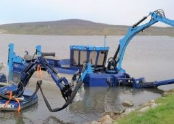 Suction dredgers and equipment rental