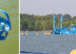 Sediment dredging from the bottom of water body PROGROUPE